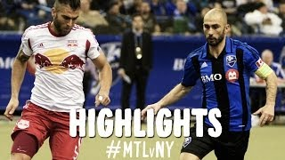 HIGHLIGHTS: Montreal Impact vs New York Red Bulls | April 5, 2014