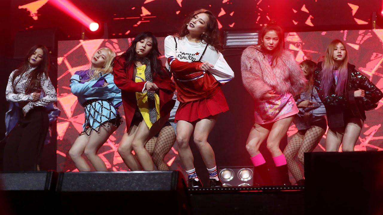 CLC(씨엘씨) 'Hobgoblin'(도깨비) Stage Showcase (CRYSTYLE, Hyuna, 현아, Liar, Mistake, Meow Meow) [통통영상]