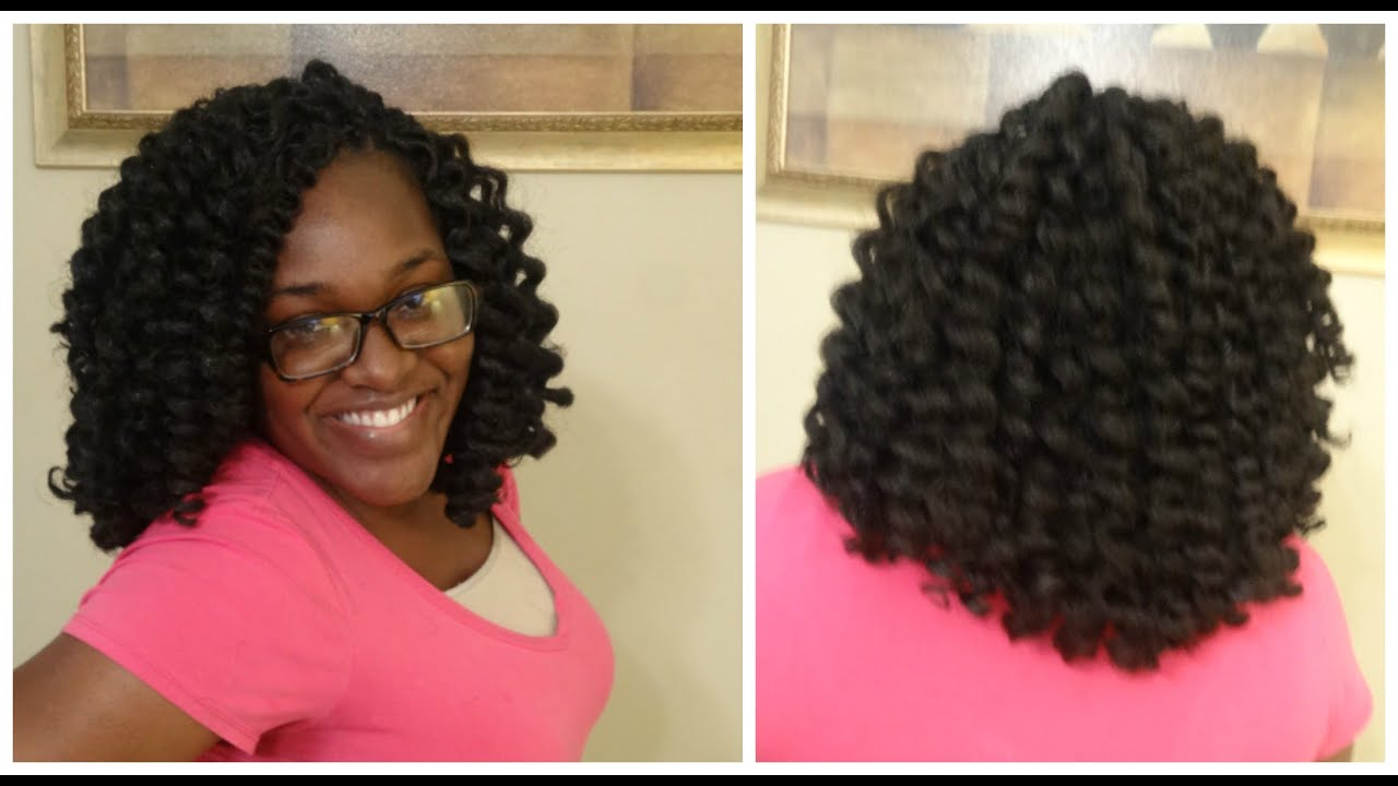 Marley Crochet Weave Pre Curled Hair Youtube