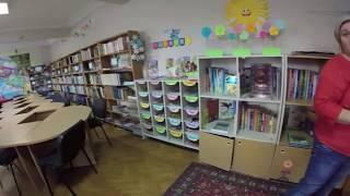 У дитячій бібліотеці Києва: 20000 льє під водою | Жюль Верн | Екскурсія і огляд книги