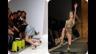 TOP 10 Most Ridiculous Falls, Models On The Catwalk. ТОП самых смешных падений, моделей на подиуме.