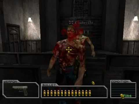 Resident Evil Survivor PS1 Full Gameplay