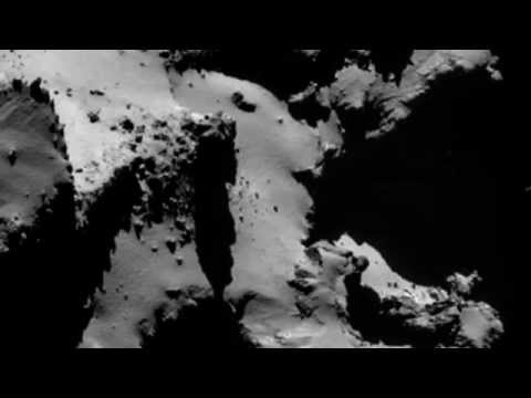 Space Sounds: Ambient EM 'Noise' of Singing Comet 67P Churyumov Gerasimenko For 12 Hours