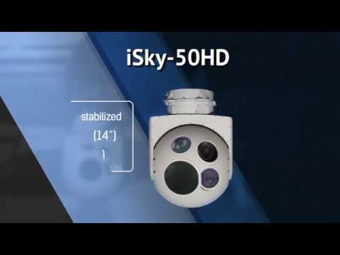CONTROP iSky-50HD- High Definition Surveillance System