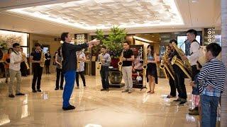 【 風芒-台北福容大飯店快閃演出 】台北福容大飯店 Fullon Hotel&Resorts × 米特薩克斯風重奏團 MIT Saxophone Ensemble|米特音樂紀錄片
