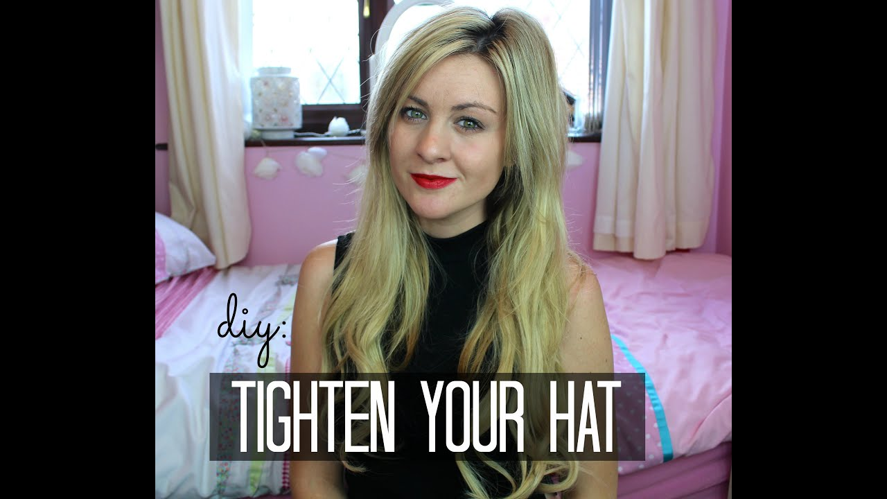 ff46346f0d1 How To Tighten Your Hat DIY (Easy)