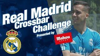 Real Madrid stars take the crossbar challenge!