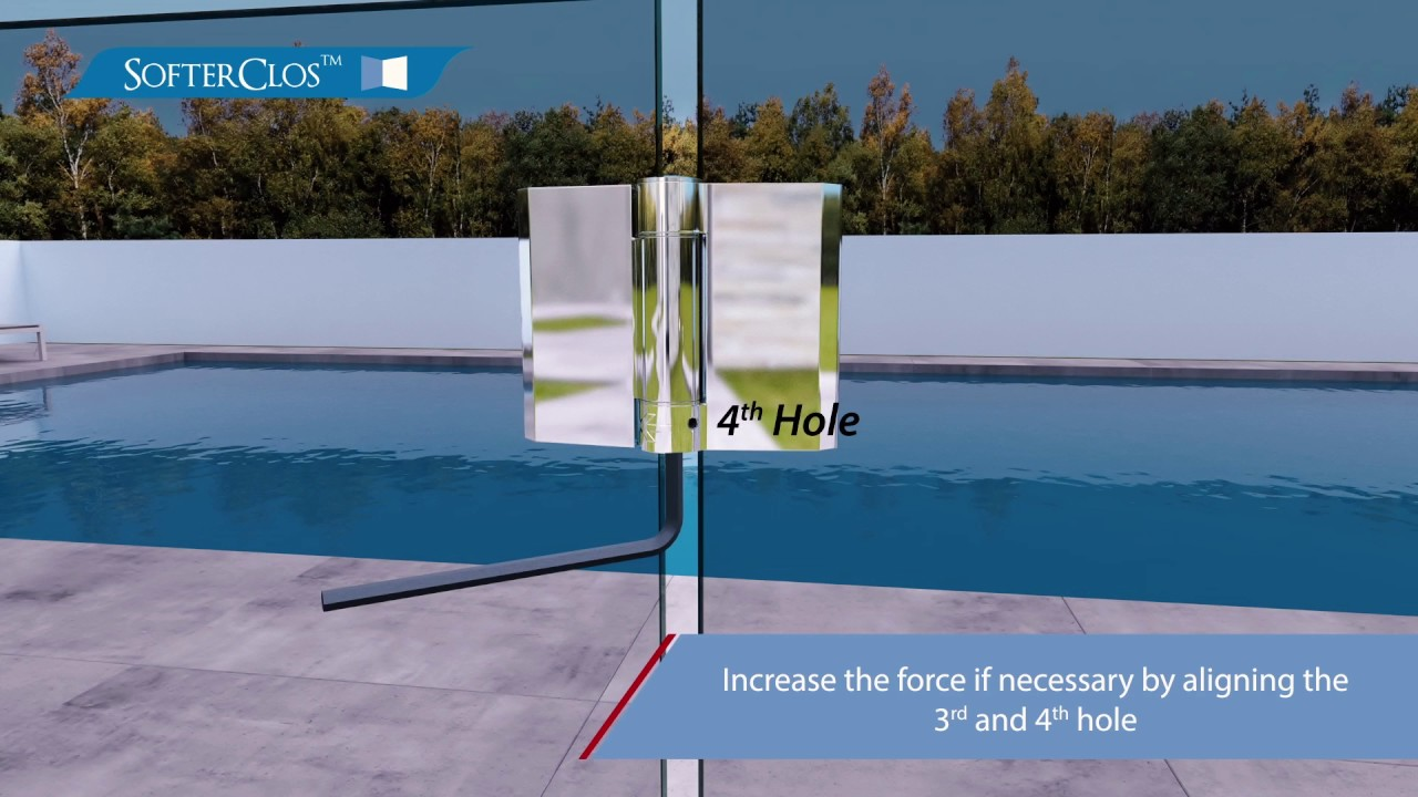 Softerclos Pool Fence Gate Hinge Adjustment Youtube