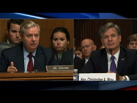 Graham grills FBI nominee over Russia
