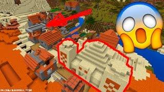5 СУПЕР СИДОВ ДЛЯ Minecraft: Pocket Edition | 4 ДЕРЕВНИ В 1 МЕСТЕ!
