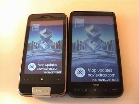 HTC HD2-Garmin Asus M10 Nüvifone & IGO8