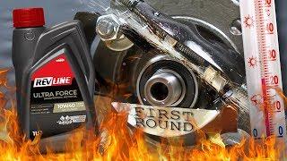 Revline Ultra Force 10W40 Jak skutecznie olej chroni silnik? 100°C