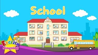 Kids vocabulary - School - Learn English for kids - English educational video