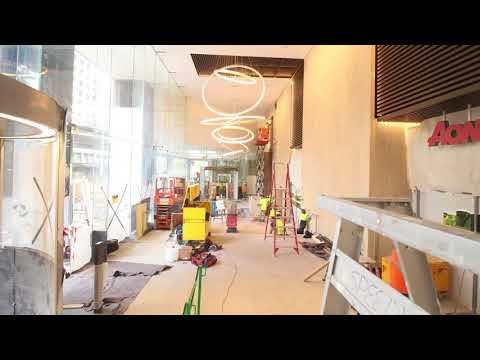 201 Kent Street - Foyer Refurbishment Time Lapse