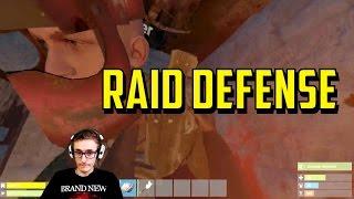 Rust | Epic Early Game Raid Defense!