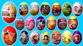 Huge 75 Huevos Sorpresa Paw Patrol Pocoyo Peppa MonsterHigh Frozen BubbleGuppies Play-Doh Fairies