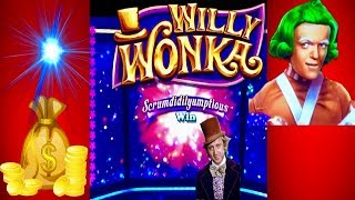 ★ WONKA SLOT MACHINE★LUCINDA TRIPLED OUR CASH!! ★BONUSES AND FEATURE ★FOUR WINDS CASINO