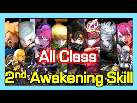 Download 2nd Awakening Skill - All Class animation / Dragon Nest (2021 May)