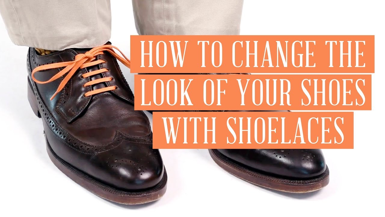 How to Change the Look of Your Shoes with Shoelaces ...