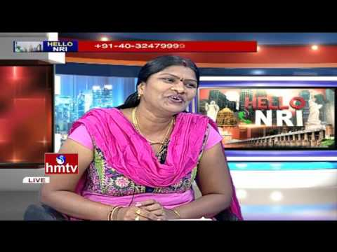 Folk Singer Telu vijaya Exclusive Interview | Hello NRI | HMTV