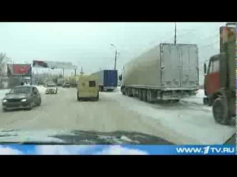 Волгоград Замело Снегом. 2013