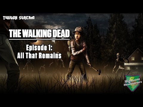Twitch Stream | TWD Season 2 Episode 1: All That Remains [PS3]