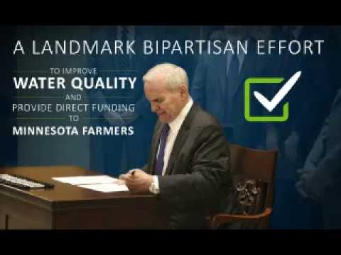 Gov Dayton Signs Agreement with USDA for $350 Million in CREP Projects in MN