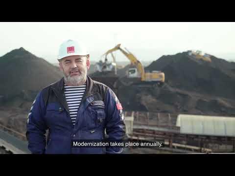 Liebherr  Four R 976 crawler excavators on Sakalin Island