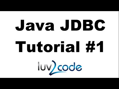 Java JDBC Tutorial - Part 1: Connect to MySQL datase with Java