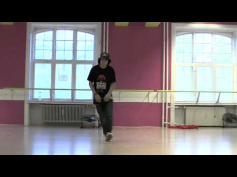 Aleandro - student at Hotstepper 1 year Hip Hop & Urban Dance Education 2010-2011