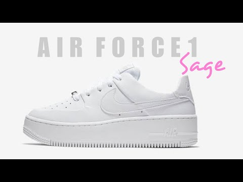 NIKE | Air Force 1 Sage Low UNBOXING + CLOSER LOOK #nike #af1 #sage #sneakers #airforce1