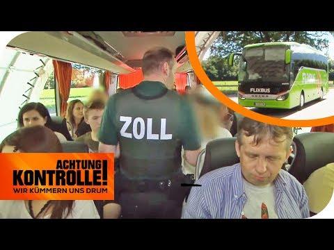 Zollkontrolle im Fernbus: Was findet der Zoll auf der Balkanroute? | Achtung Kontrolle | kabel eins
