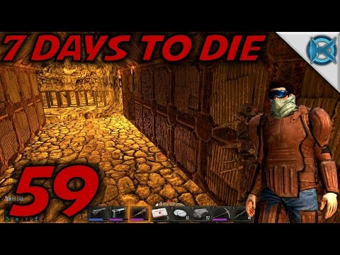 """7 Days to Die Alpha 12 Gameplay / Let's Play (S-12) -Ep. 59- """"New Tunnel Look"""""""