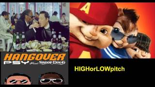 psy hangover feat snoop dogg chipmunks version