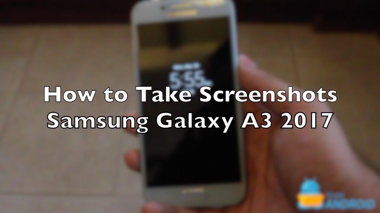 Screenshot Samsung A3