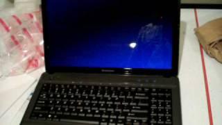 Lenovo G550 Unboxing