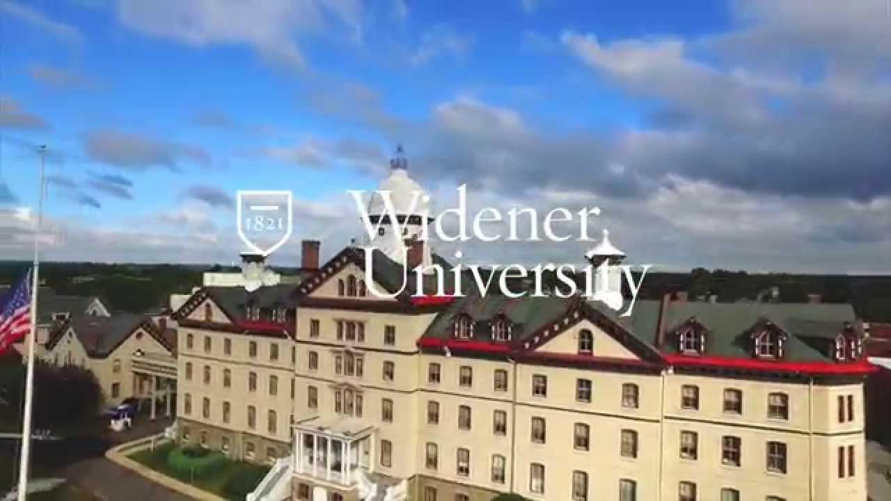 Widener University From The Skies Youtube