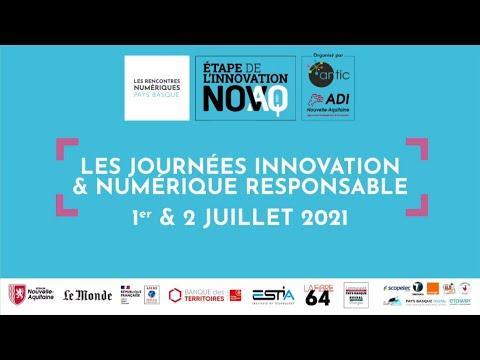 ENREGISTREMENT LIVE des Journées Innovation & Numérique responsable - 1er juillet 2021