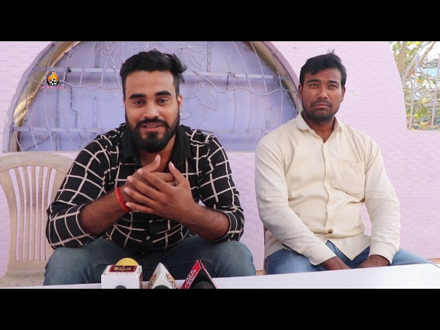 Bhojpuri Singer Abhishek Singh (GOLU) Exclusive Interview For Upcoming Project Song Recording