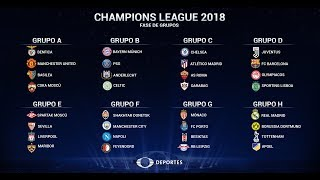 Uefa Champions League 2019 20 Group Stage Draw Featuring