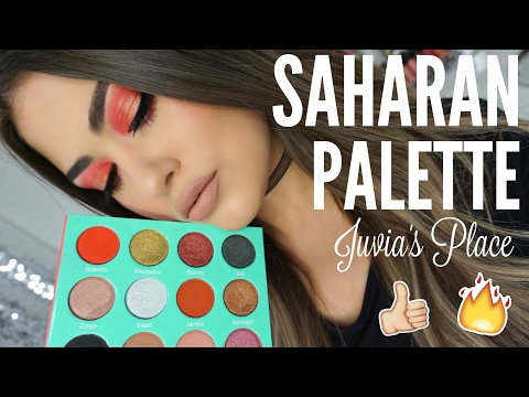 Juvia's Place THE SAHARAN PALETTE - Review & Swatches OMG!!