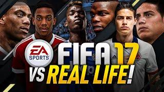 FIFA 17 VS REAL LIFE!