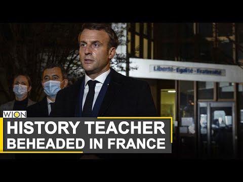 History teacher beheaded in France | Teacher showed Prophet caricatures | WION News | World News