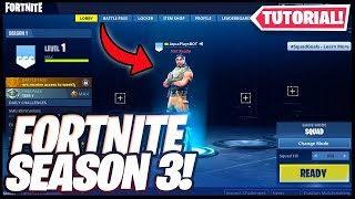 How to get *SEASON 3* In fortnite! (Season 9)