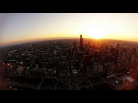269C flight from Schaumburg to downtown Chicago