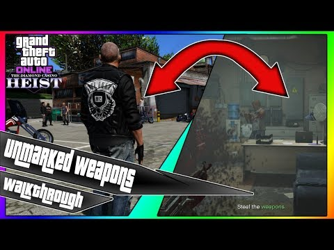 Silent & Sneaky - Unmarked Weapons || Walkthrough