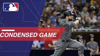 Condensed Game: ARI@SD - 8/17/18