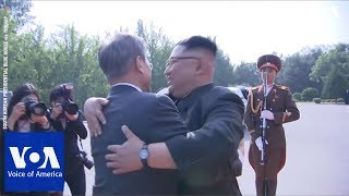 South Korea's President Moon Jae-in Meets with North Korea's Leader Kim Jong Un Again
