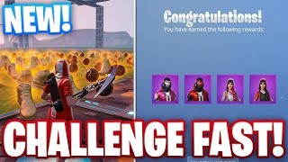 "HOW TO COMPLETE FREE ""SHOES AND BASKETBALLS"" CHALLENGES FAST IN FORTNITE SEASON 9!"