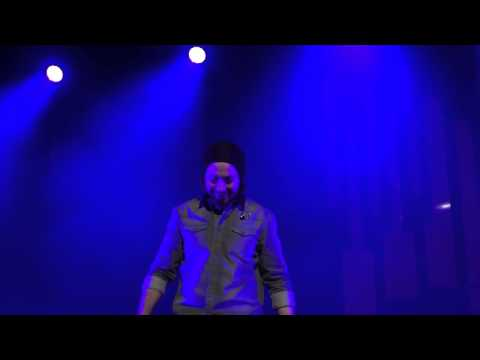 Avi Kaplan Overtone Singing Lion Sleeps Tonight - Pentatonix Orpheum Los Angeles 3-2-2014